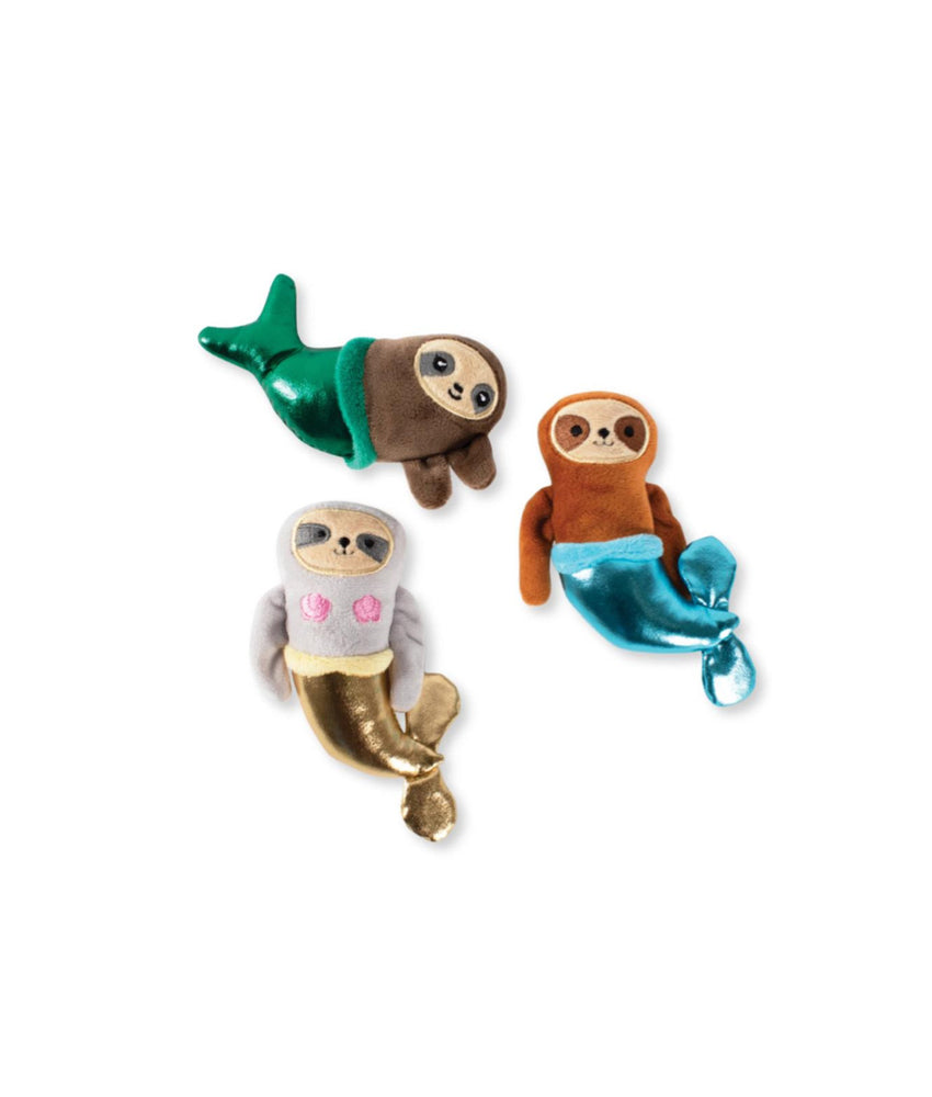 Toy Box Mini Mersloth Squeaky Plush Toy