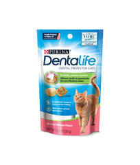 Dentalife Savory Salmon Flavor Dental Treats For Cats (51g)