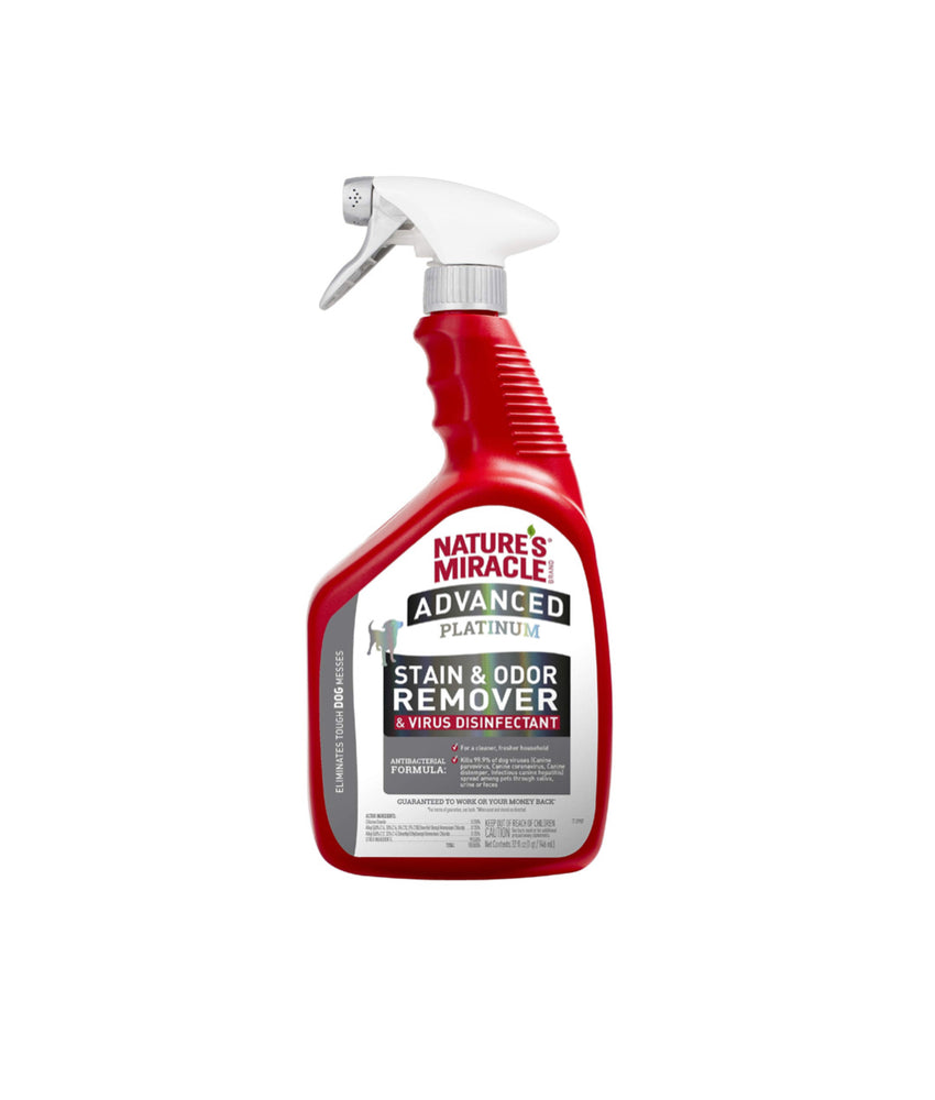 Nature's Miracle Advanced Platinum Stain & Odor Remover (946ml)