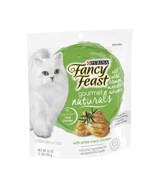 Fancy Feast Gourmet Naturals with White Meat Chicken (454g)