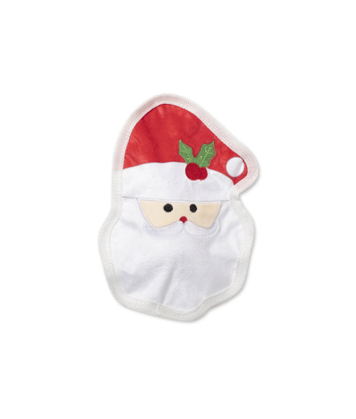 Santa's Pet Shop UnStuffed Santa Face Squeaky Toy
