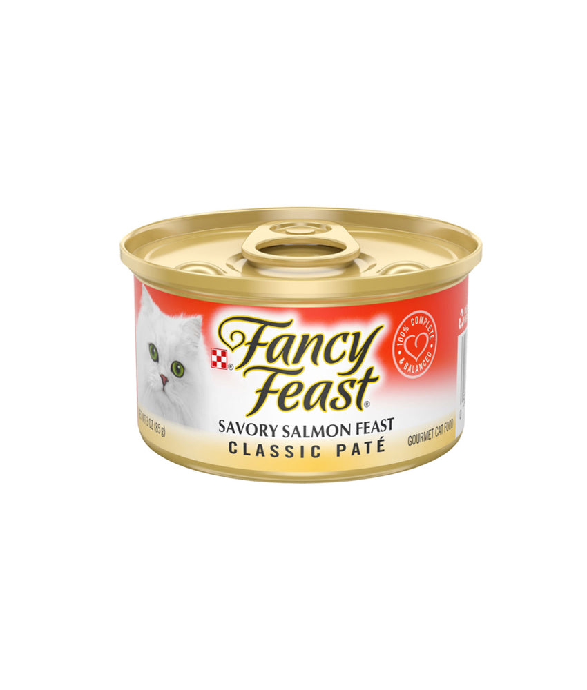 Fancy Feast Classic Paté Savory Salmon Feast (85g)