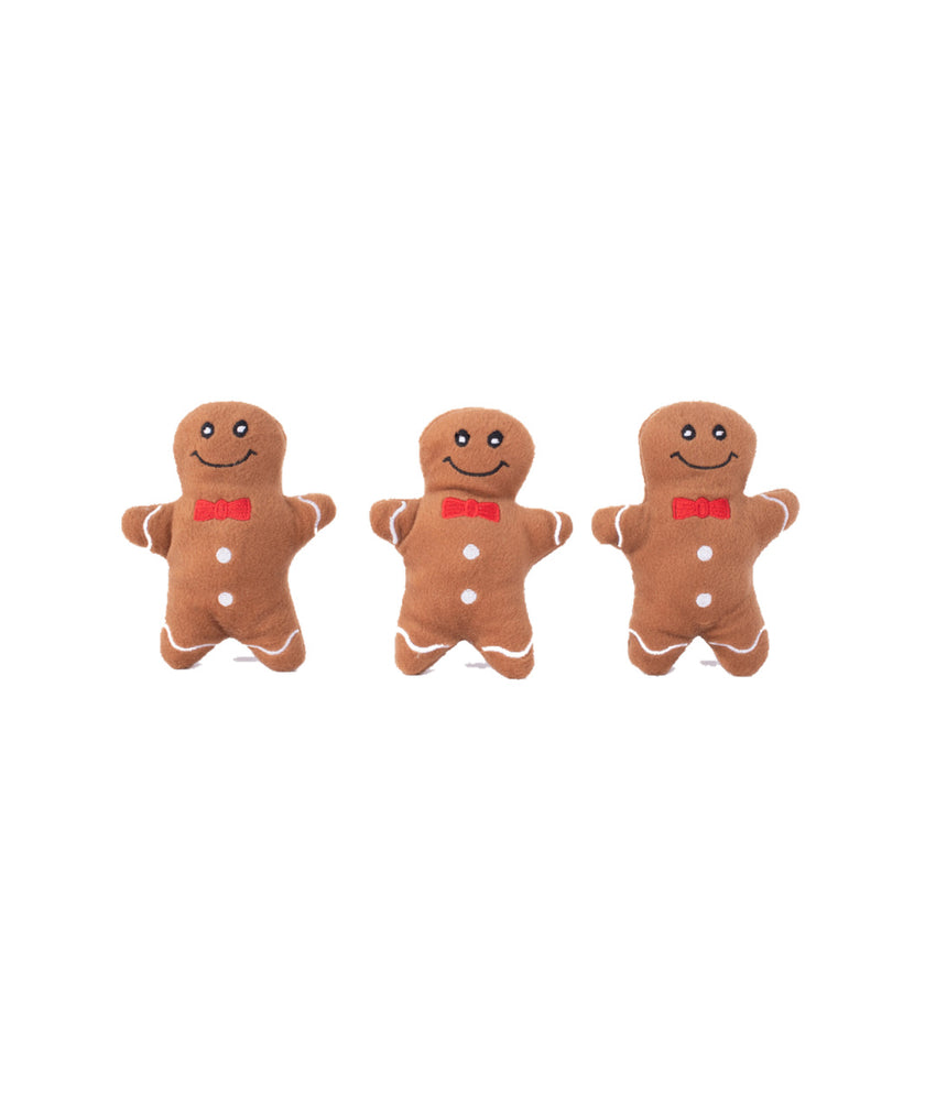 Holiday Miniz Gingerbread Man 3-pack