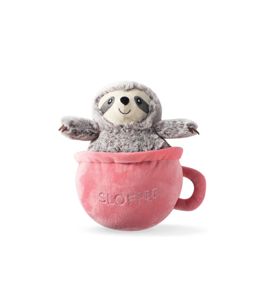 Toy Box Sloffee Squeaky Plush Toy