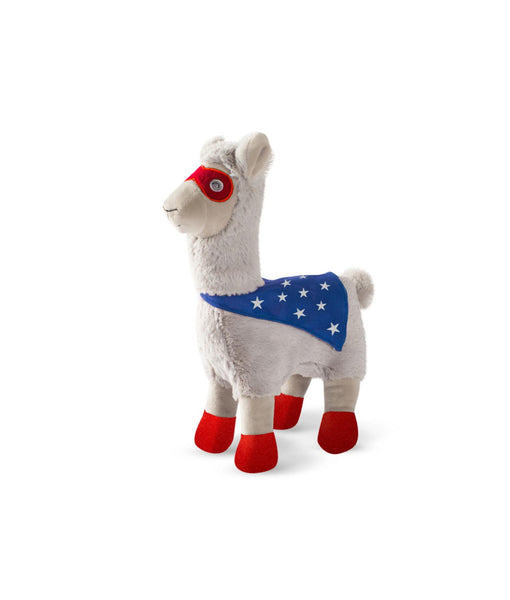 Fringe Studio Toy Box Super Llama Squeaky Plush Toy