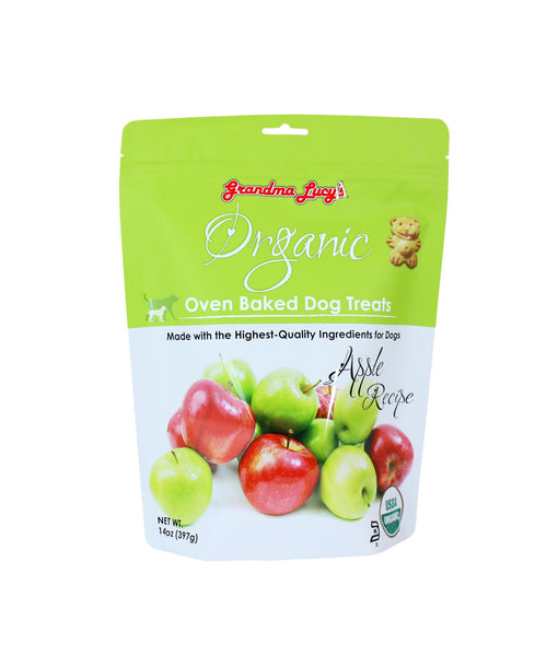 Grandma Lucy's Organic Oven Baked Apple Dog Treats (397g)