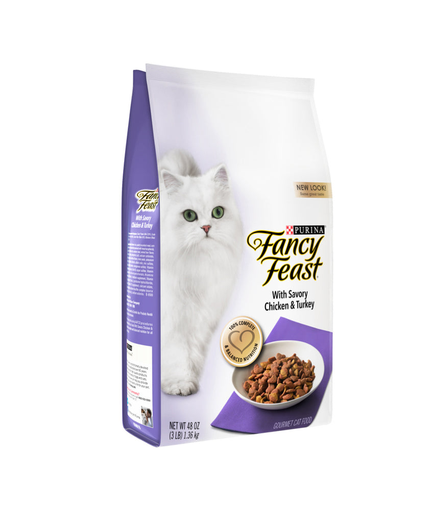 Fancy Feast with Savory Chicken & Turkey (1.36kg)