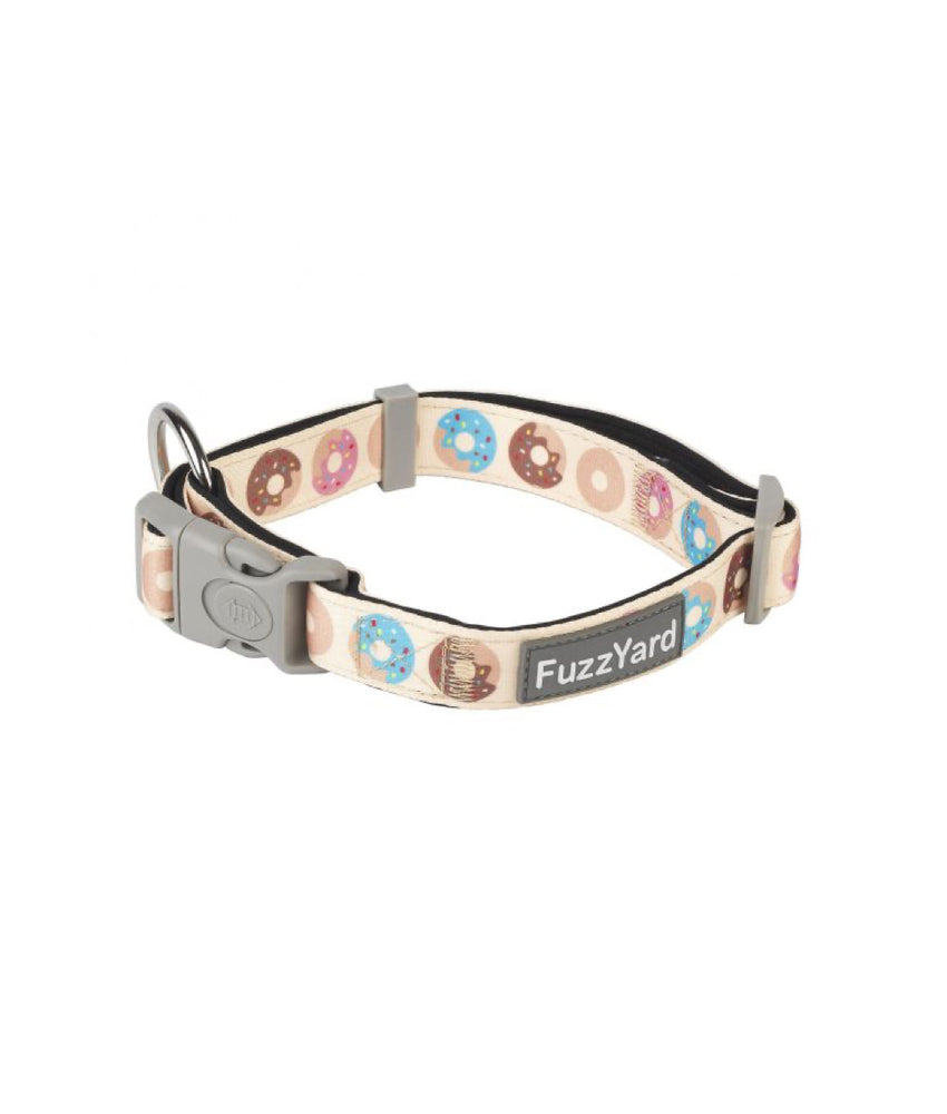 FuzzYard Dog Collar Go Nuts S