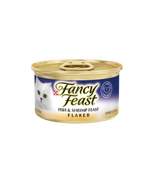 Fancy Feast Flaked Fish & Shrimp Feast (85g)