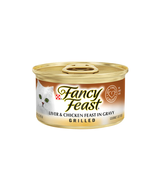 Fancy Feast Grilled Liver & Chicken Feast In Gravy (85g)