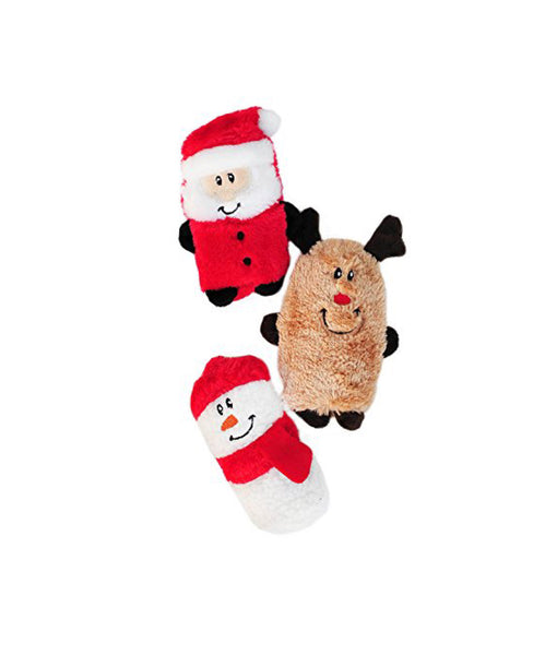 Holiday Squeakie Buddie 3-pack