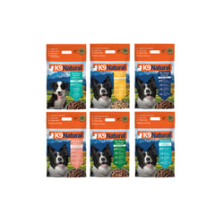 [30% K9 Natural Freeze Dried Dog Food Bundle Deal (3 x 1.8kg)