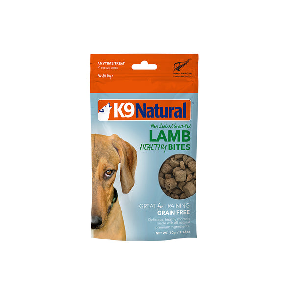 [20% OFF] K9 Natural Freeze Dried Lamb Healthy Bites (50g)