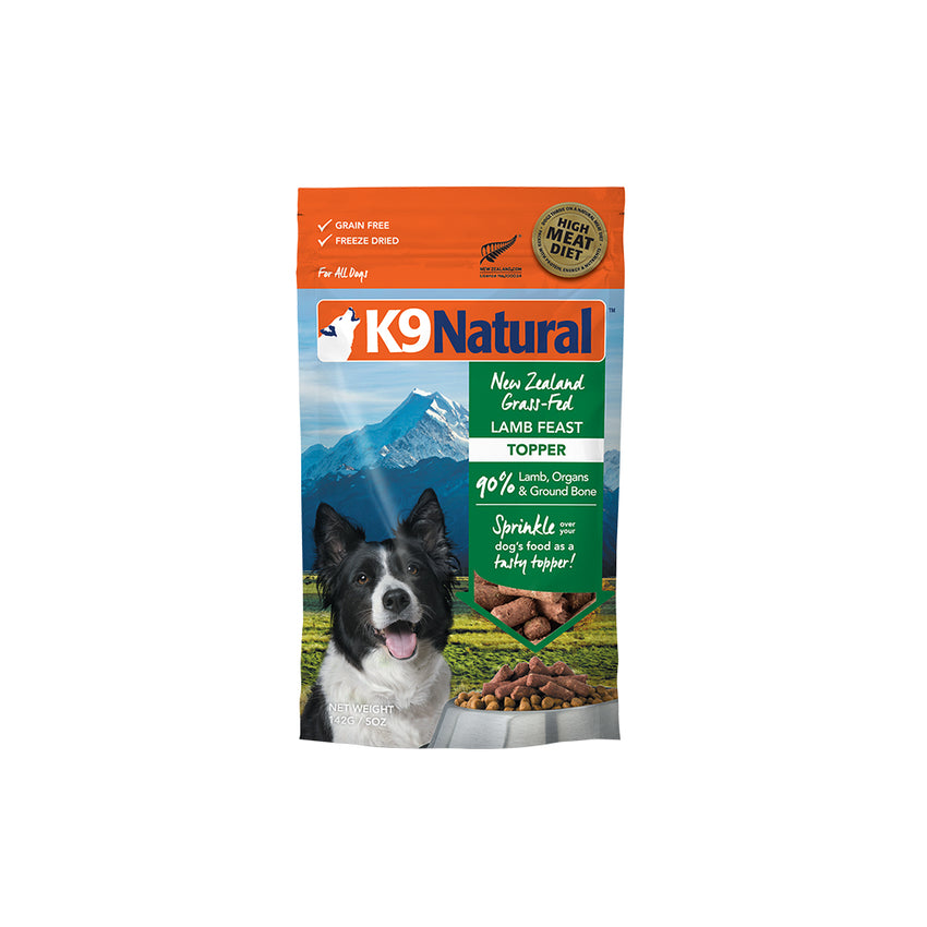 [20% OFF] K9 Natural Freeze Dried Lamb Feast Topper (142g)