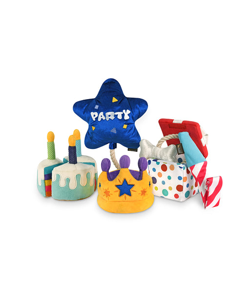 Party Time Plush Dog Toys