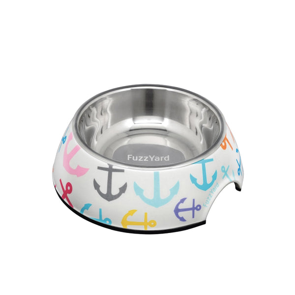 FuzzYard Easy Feeder Dog Bowl (Ahoy)