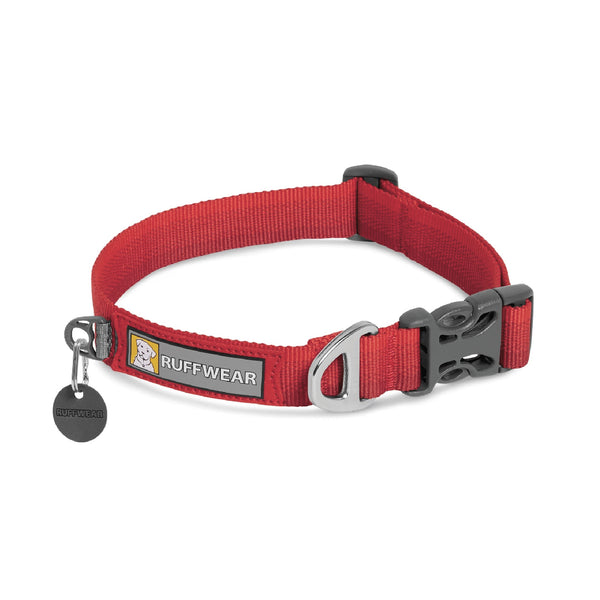 Ruffwear Front Range Dog Collar (Red Sumac)