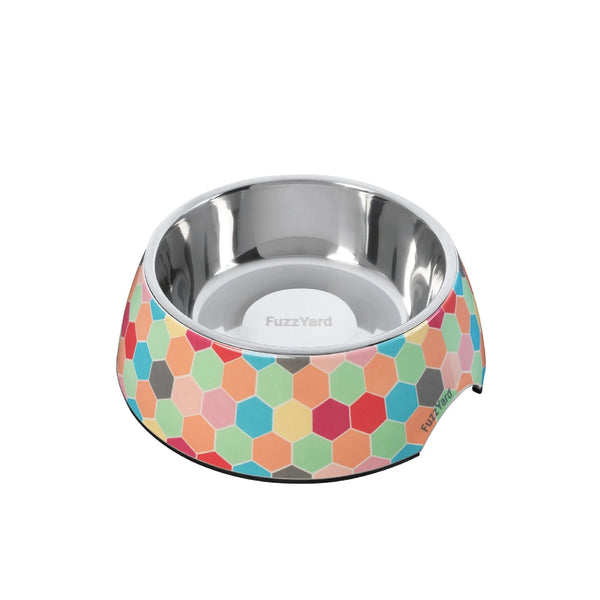 FuzzYard Easy Feeder Dog Bowl (The Hive)