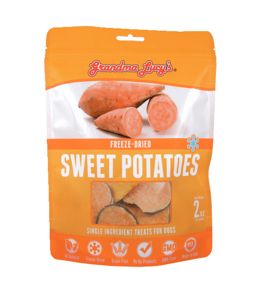 Grandma Lucy's Freeze Dried Sweet Potato Cat & Dog Treats (57g)