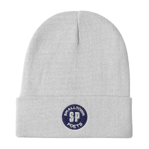 Smalltown Poets Classic Logo Embroidered Beanie