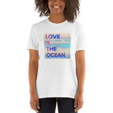 Load image into Gallery viewer, Love Is the Ocean Artwork T-Shirt