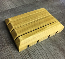 Load image into Gallery viewer, Handcrafted Wooden Soap Dish