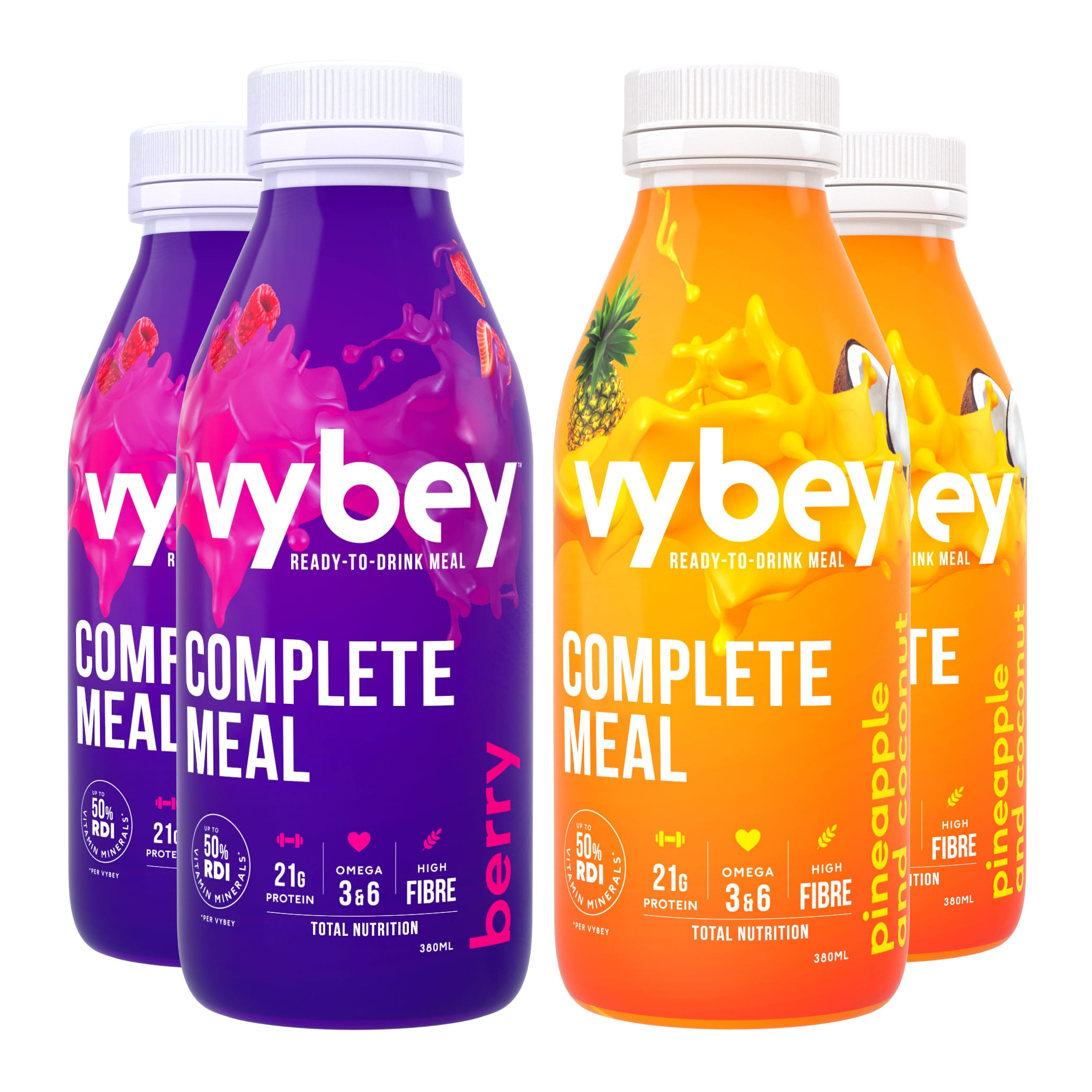 vybey Complete Meal Drink Variety 24 Pack ($4.99 per bottle)