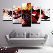 Load image into Gallery viewer, Iron Man Panel Canvas Art