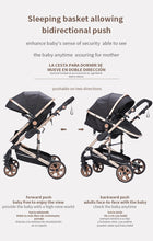 Load image into Gallery viewer, Premium 3-in-1  Baby Stroller