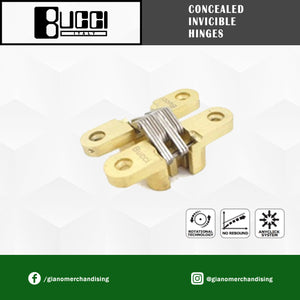BUCCI Concealed Invicible Hinge for Cabinets Door