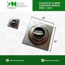 Load image into Gallery viewer, Stainless floor Strainer odour free 1355