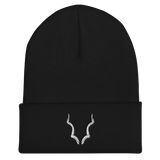 Black Buck Cuffed Beanie