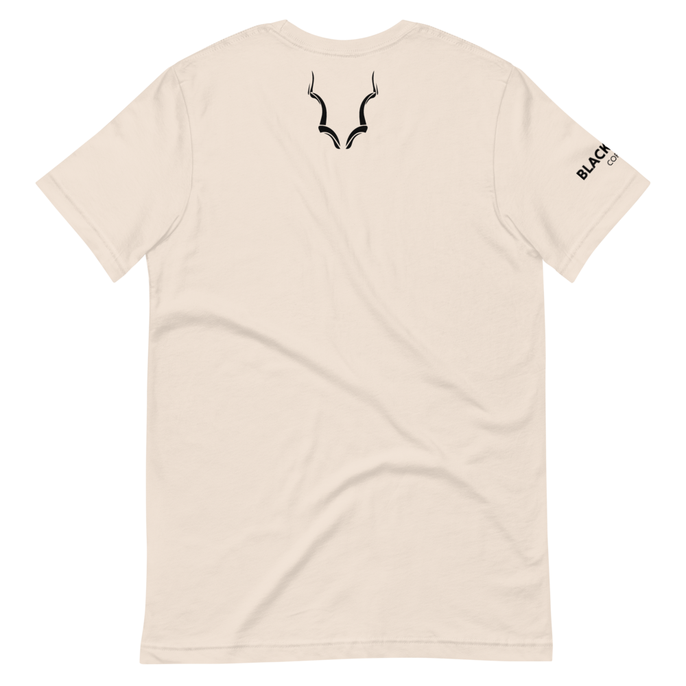 Black Buck Back Icon Short-Sleeve T-Shirt