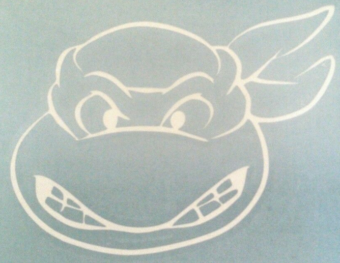 Teenage Mutant Ninja Turtle Laptop Car Vinyl Window Decal Sticker TMNT