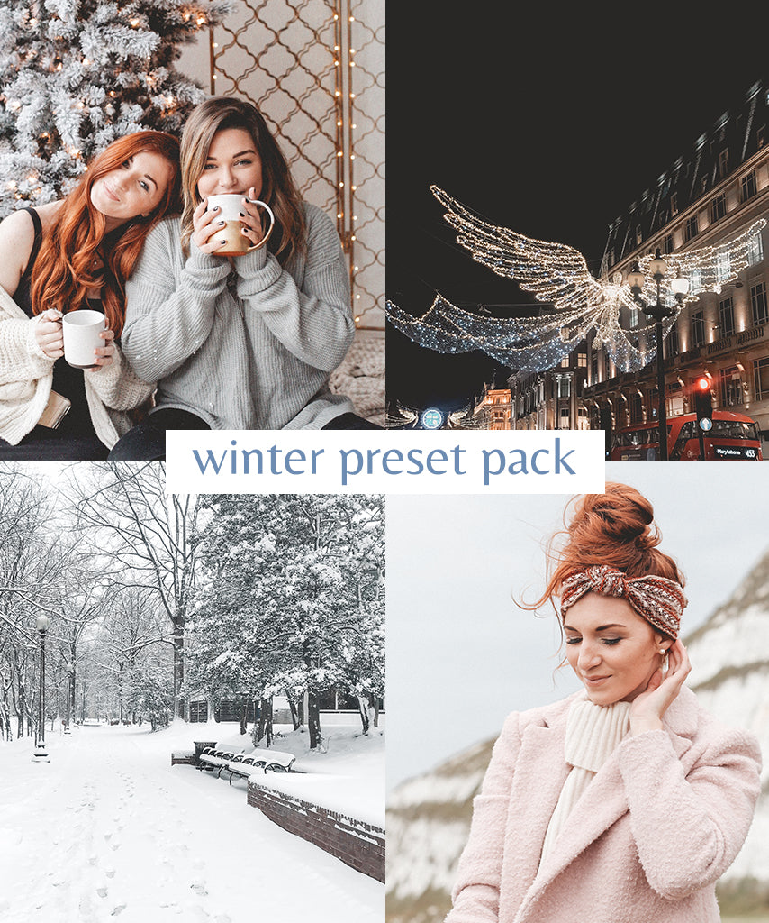 Winter Lightroom Mobile Presets