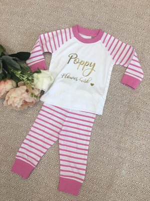 Child Striped Cotton Pyjamas