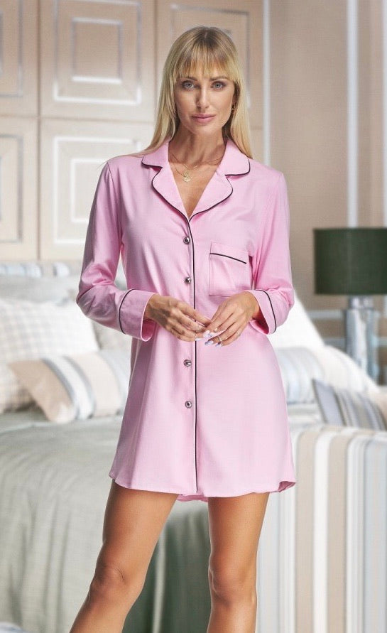 Adult Pink Cotton Shirt