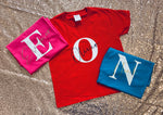 Initial and Name Tops (age 1 - 4)