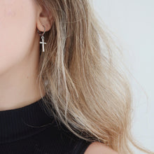 Load image into Gallery viewer, Miley Cross Earrings