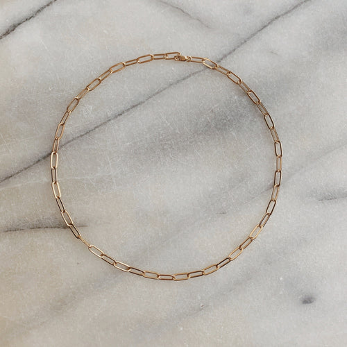 Gold Filled Oval Link