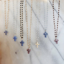 Load image into Gallery viewer, Venetian Cross Necklace