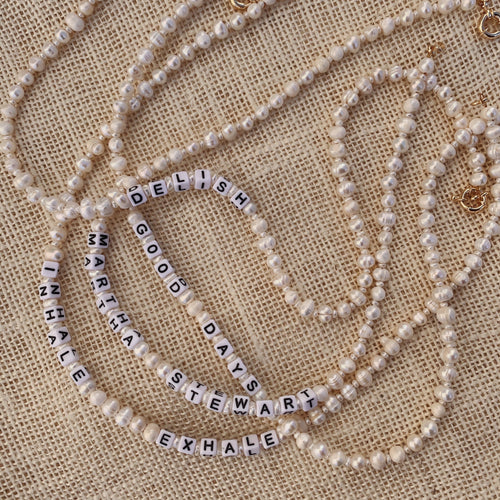 Fill in The Blank _______ Pearl Necklace