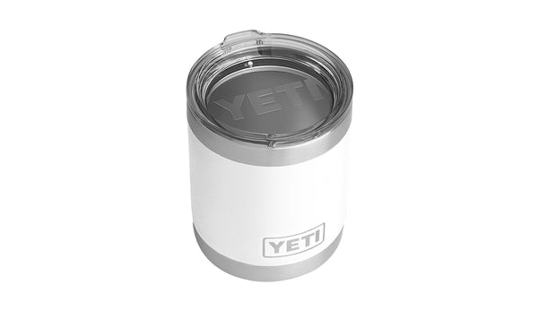 YETI RAMBLER 10 OZ LOWBALL WITH STANDARD LID
