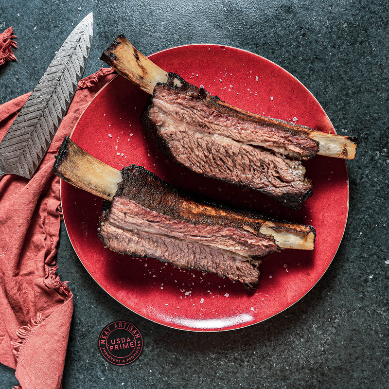 USDA Prime Short Ribs – Full Plate