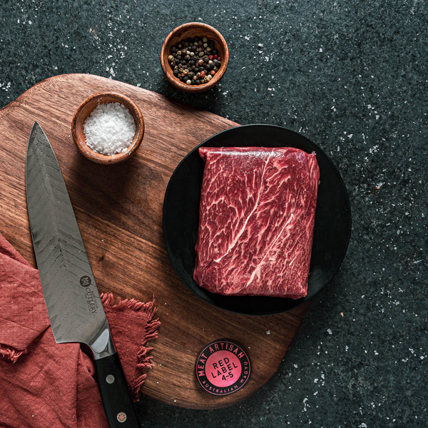 MA Red Label Australian Wagyu Flat Iron Steak