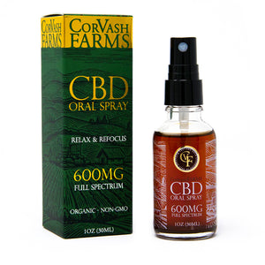 600MG CBD Oil Spray