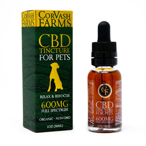 600MG CBD Pet Oil