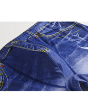 Print High Elastic Boxer Shorts