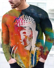 All Over Print Long Sleeve T-shirt