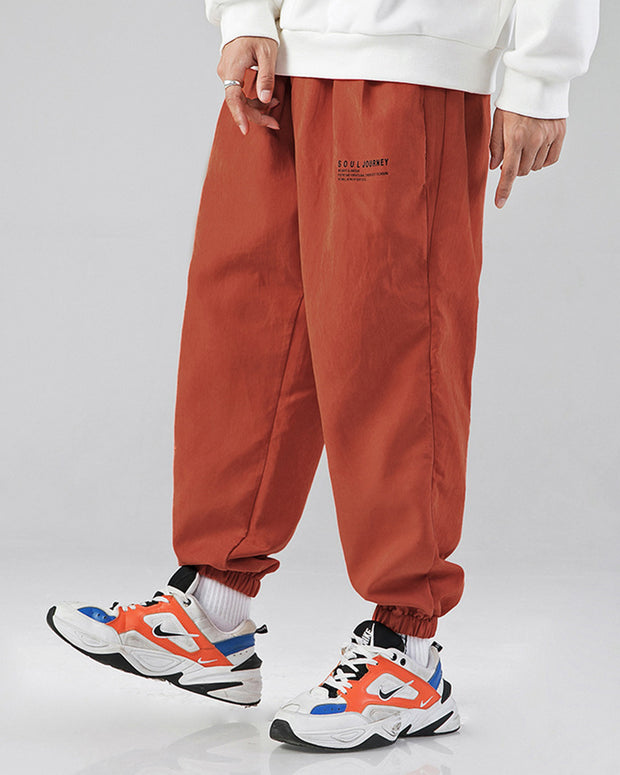 Solid Loose Bloomer Sweatpants